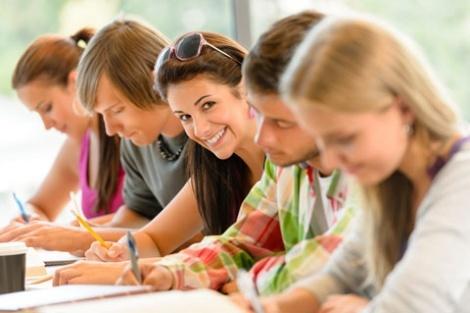 Junge Studierende