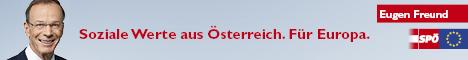 Soziale Werte aus Österreich. Für Europa. 468x60 Pixel