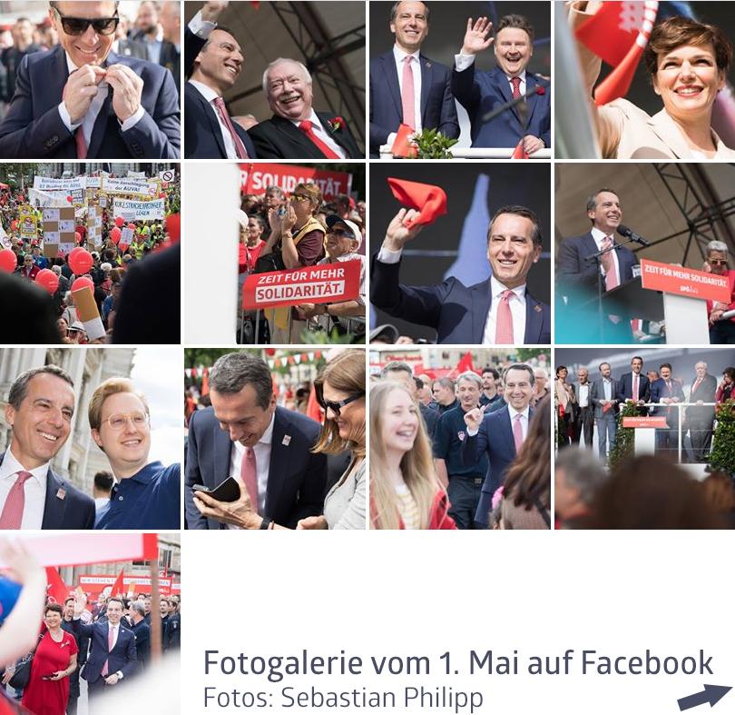 1. Mai 2018 / Fotos: Sebastian Philipp
