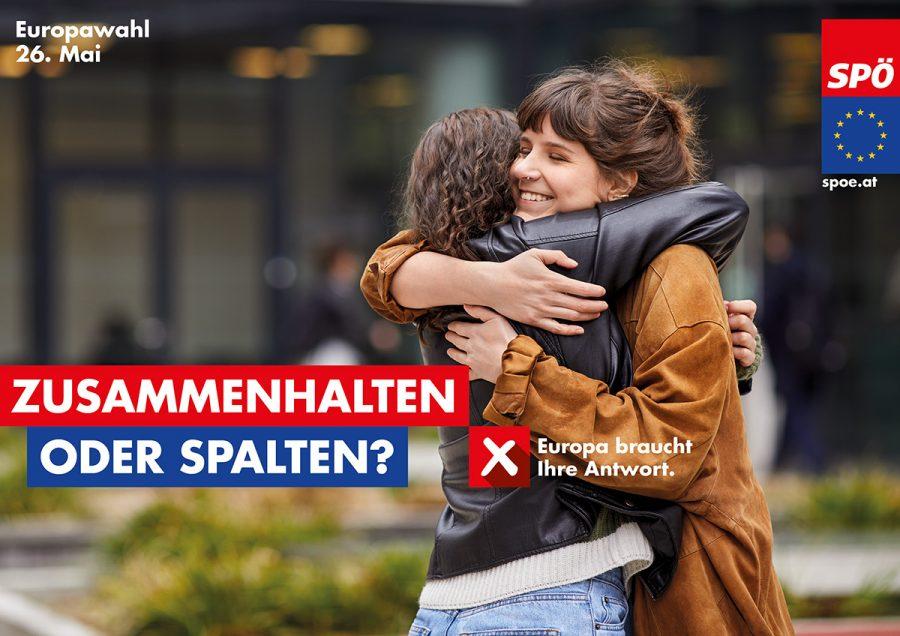 Zusammenhalten oder Spalten? Europa braucht Ihre Antwort.