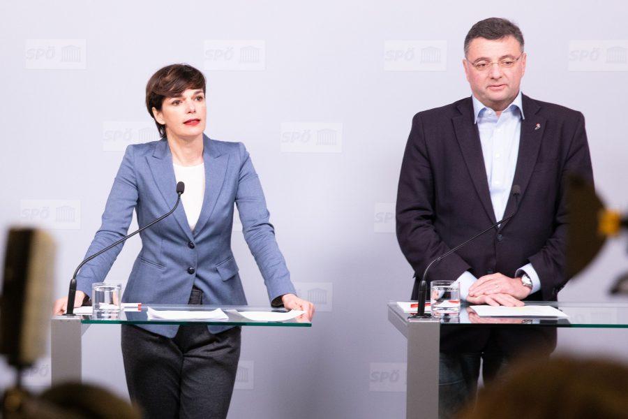 Rendi-Wagner und Leichtfried